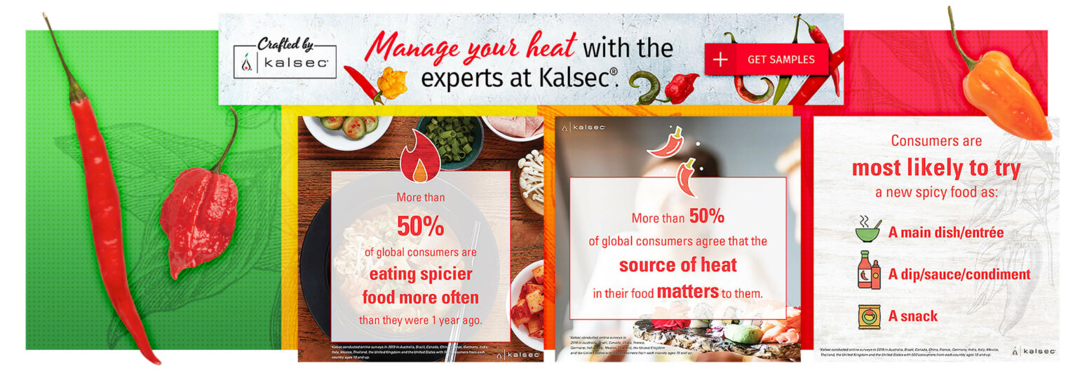 Kalsec Heat Solution ad examples